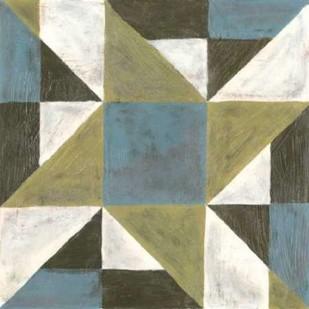 Patchwork Tile I Digital Print by Lam, Vanna,Geometrical