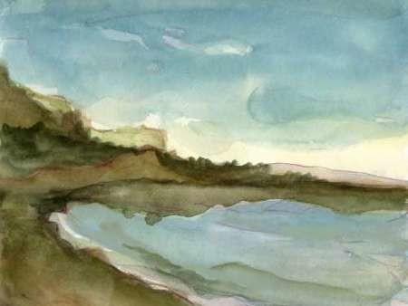 Plein Air Landscape III Digital Print by Harper, Ethan,Impressionism