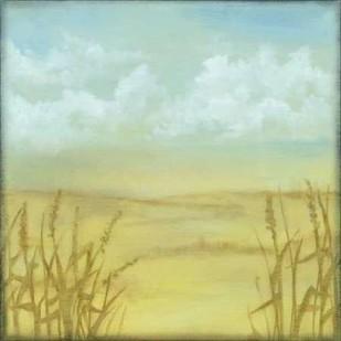 Through the Wheatgrass II Digital Print by Goldberger, Jennifer,Impressionism