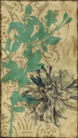 Tandem Blooms I Digital Print by Goldberger, Jennifer,Decorative