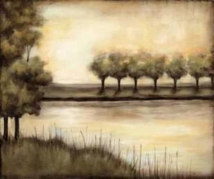 Waterside Revelry I Digital Print by Goldberger, Jennifer,Impressionism