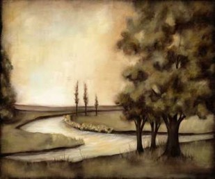 Waterside Revelry II Digital Print by Goldberger, Jennifer,Impressionism