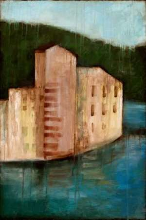 Coastal Villa I Digital Print by Goldberger, Jennifer,Impressionism