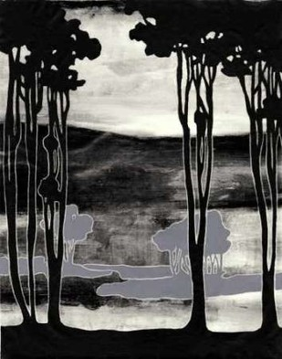 Nouveau Landscape I Digital Print by Goldberger, Jennifer,Impressionism