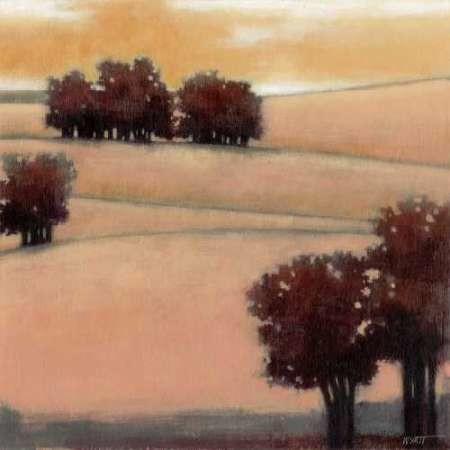 Blushing Hills I Digital Print by Wyatt Jr., Norman,Impressionism