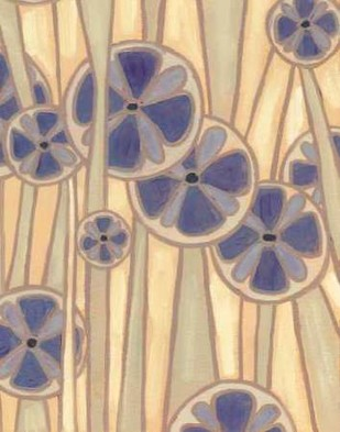 Lavender Reeds I Digital Print by Deans, Karen,Abstract