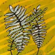 Gold Batik Botanical II Digital Print by Davis, Andrea,Decorative