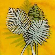 Gold Batik Botanical III Digital Print by Davis, Andrea,Decorative