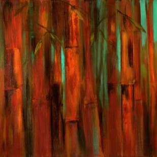 Sunset Bamboo I Digital Print by Wilkins, Suzanne,Impressionism