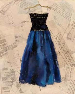 Fashion Designed I Digital Print by Copeman, Pamela,Expressionism