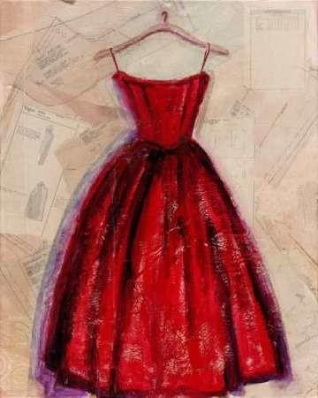 Fashion Designed II Digital Print by Copeman, Pamela,Expressionism