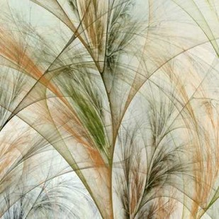 Fractal Grass IV Digital Print by Burghardt, James,Impressionism