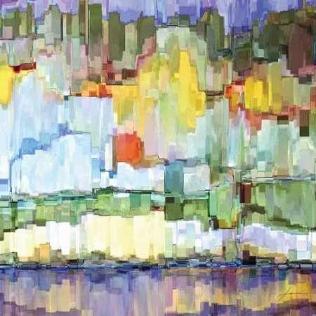 Glacier Bay IV Digital Print by Burghardt, James,Impressionism