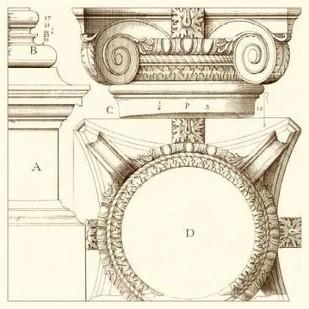 Corinthian Detail IV Digital Print by Vision Studio,Art Deco