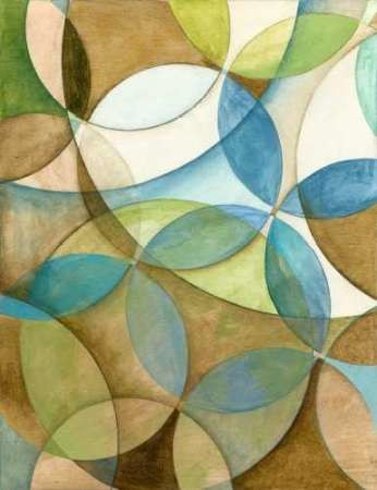 Circulate I Digital Print by Meagher, Megan,Abstract, Cubism