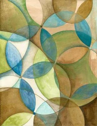 Circulate II Digital Print by Meagher, Megan,Abstract, Cubism