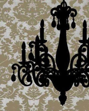 Chandelier Silhouette I Digital Print by Harper, Ethan,Decorative