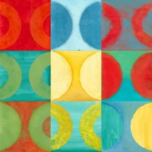Round About I Digital Print by Meagher, Megan,Abstract