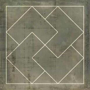 Geometric Blueprint III Digital Print by Vision Studio,Geometrical