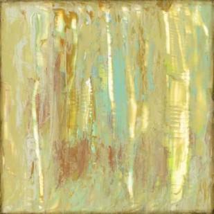 Lime Fusion II Digital Print by Goldberger, Jennifer,Abstract