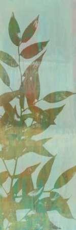 Leaf Overlay I Digital Print by Goldberger, Jennifer,Decorative