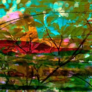 Abstract Leaf Study III Digital Print by Jasper, Sisa,Impressionism