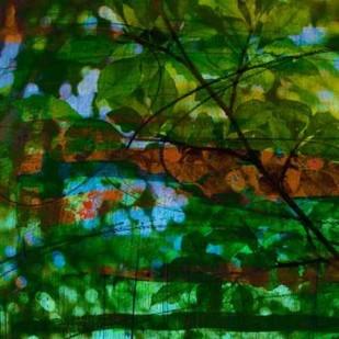 Abstract Leaf Study IV Digital Print by Jasper, Sisa,Impressionism