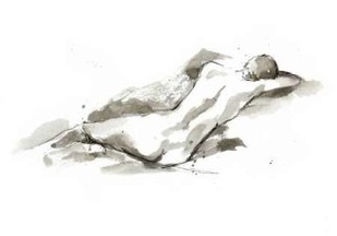Ink Figure Study V Digital Print by Harper, Ethan,Impressionism