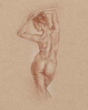 Standing Figure Study I Digital Print by Harper, Ethan,Illustration