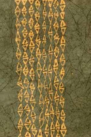 Primitive Patterns III Digital Print by Stramel, Renee W.,Abstract