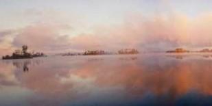 The Islands Panorama Digital Print by Head, Danny,Impressionism