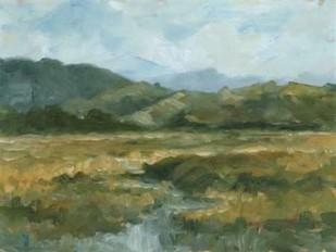 Impasto Landscape III Digital Print by Harper, Ethan,Impressionism