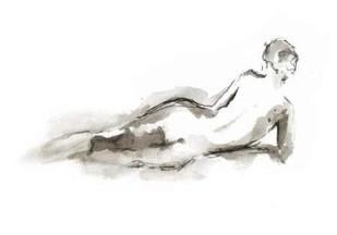 Ink Figure Study I Digital Print by Harper, Ethan,Illustration