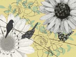 Birds On A Wire I Digital Print by Reynolds, Jade,Decorative