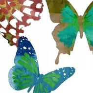 Scattered Butterflies II Digital Print by Jasper, Sisa,Decorative, Decorative