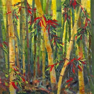 Bamboo Grove I Digital Print by Oleson, Nanette,Impressionism