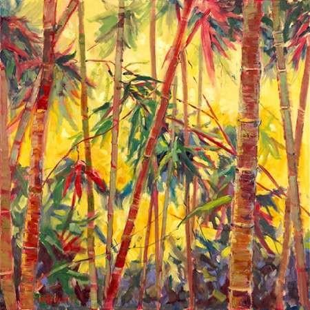 Bamboo Grove II Digital Print by Oleson, Nanette,Impressionism