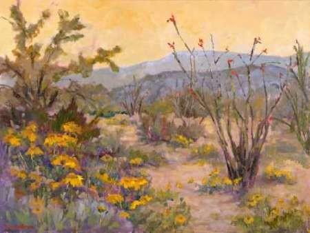 Desert Repose IV Digital Print by Oleson, Nanette,Impressionism