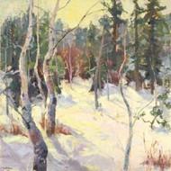 Four Seasons Aspens IV Digital Print by Oleson, Nanette,Impressionism