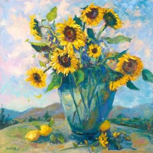 Floral Kaleidoscope III Digital Print by Oleson, Nanette,Impressionism