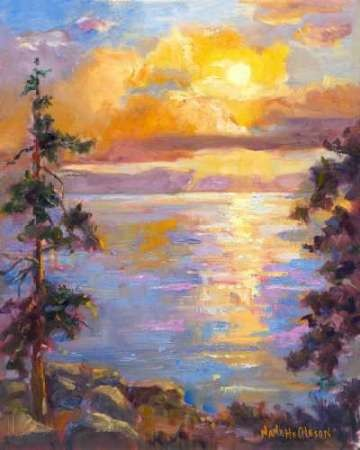 Western Vistas I Digital Print by Oleson, Nanette,Impressionism