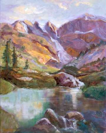 Western Vistas II Digital Print by Oleson, Nanette,Impressionism