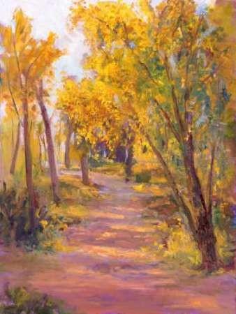 Cottonwoods Calling Digital Print by Oleson, Nanette,Impressionism