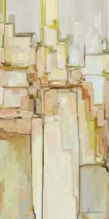 Cliff Dwellers II Digital Print by Burghardt, James,Abstract