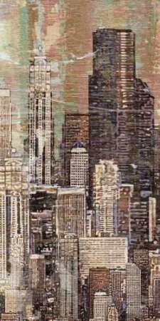 Washed Skyline I Digital Print by Burghardt, James,Expressionism