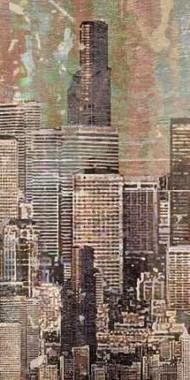 Washed Skyline II Digital Print by Burghardt, James,Expressionism