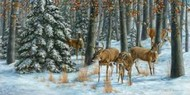 Winter Gathering Digital Print by Mock, Carolyn,Impressionism