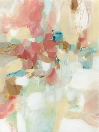 A Touch Of Blush Digital Print by Long, Christina,Abstract