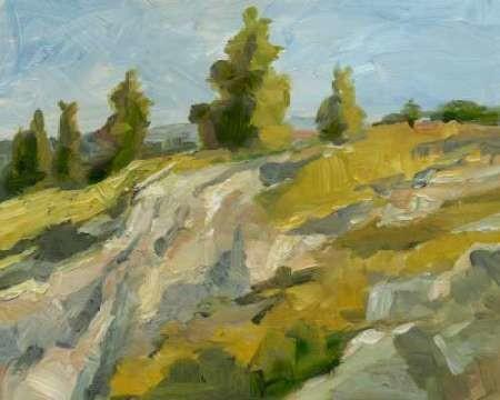 Impasto Mountainside II Digital Print by Harper, Ethan,Impressionism