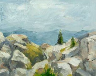 Impasto Mountainside III Digital Print by Harper, Ethan,Impressionism